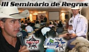 3º Seminário de Regras da PBR Brasil, dia 22 de fevereiro em São José do Rio Preto. No próximo dia ...