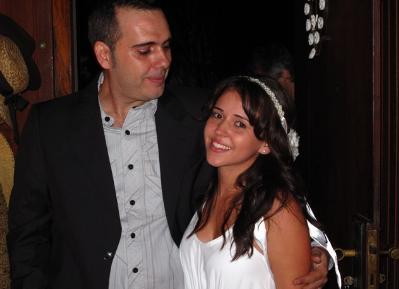 casamento de Rodrigo Sater com Carolina Junqueira