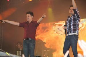 Durante show na cidade de Limeira, João Neto e Frederico contaram para a plateia um pouco de sua história A ...