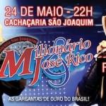 Sexta-feira, dia 24, a dupla Milionário e José Rico tocam em Campinas-SP. A apresentação acontecerá na Cachaçaria São Joaquim, que ...