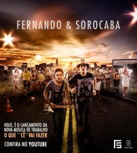 """""""O Que """"Cê"""" Vai Fazer"""" é a nova canção da dupla Fernando e Sorocaba Sertanejos lançam hoje a nova música ..."""