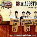 No próximo dia 29 de agosto a dupla sertaneja Milionário e José Rico irá se apresentar na Festa do Peão ...