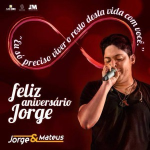 No dia 27 de agosto, o cantor Jorge da dupla Jorge e Mateus, celebra mais um ano de vida. O artista está no interior de Goiás comemorando com a sua família e como presente o artista festejou a conquista de ...