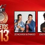 O cantor Sertanejo Cristiano Araújo se apresenta no próximo dia 16 de agosto na maior festa de peão do Brasil. ...