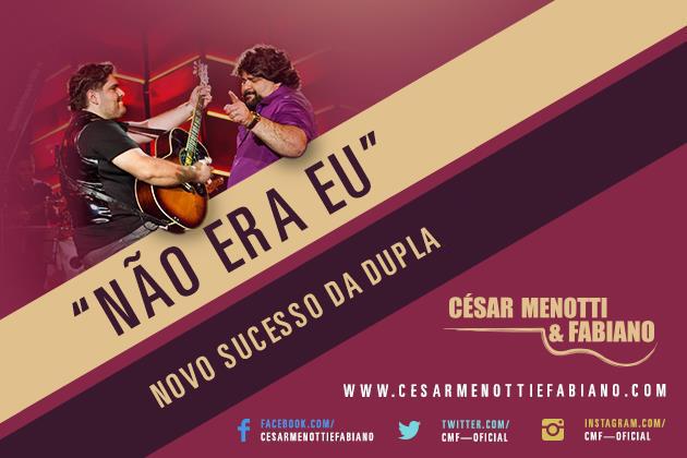 César Menotti e Fabiano – Não era eu - Mp3