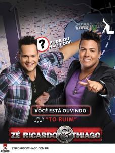 """A dupla Zé Ricardo e Thiago disponibilizou para baixar o seu mais um sucesso sertanejo, a música se chama """"To Ruim"""". Quer BAIXAR """"To Ruim"""", a nova música de Zé Ricardo e Thiago ? Faça o download do novo sucesso ..."""