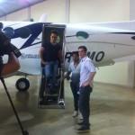 Na ultima semana, o cantor Marcelo abriu sua casa em Goiânia, para gravar uma matéria para o Domingo Espetacular, que ...