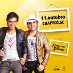 A dupla formada pelos irmãos Guilherme e Santiago vai realizar uma maratona de shows neste final de semana. Hoje, dia ...