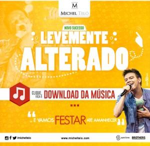 """Aproveitando a chegada do verão, o cantor Michel Teló lançou hoje,para todas as rádios do Brasil, sua nova música de trabalho. A canção se chama """"Levemente Alterado"""", um arrocha um pouco menos acelerado, que vem com a intenção de alcançar ..."""