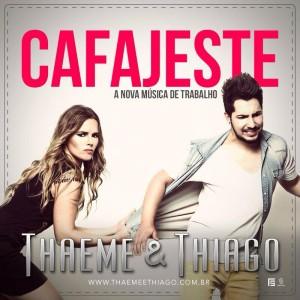 """Com o lançamento previsto para a próxima segunda, a dupla Thaeme e Thiago (agora com o novo Thiago) aproveitaram essa véspera de feriado e adiantaram o lançamento da nova música de trabalho. """"Cafajeste"""". A música, que é a primeira da ..."""