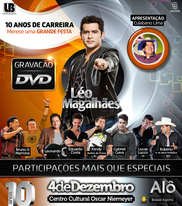leo magalhaes gravacao DVD