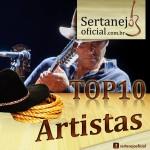 Top 10 Artistas Sertanejo Oficial – Junho de 2014 1 – Almir Sater 2 – Paula Fernandes 3 – Cristiano Araújo 4 – Sérgio Reis 5 – Luan Santana 6 – Gusttavo Lima 7 – Fernando e Sorocaba 8 – ...