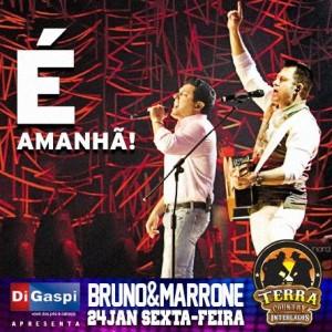 A dupla Bruno e Marrone retorna de suas férias e irá apresentar para seu público, agora de maneira intimista, um pouco do que foi seu último ano, com a turnê Pela Porta da Frente. A apresentação será dia 24 de ...