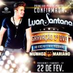 No próximo dia 22 de fevereiro, a dupla Munhoz e Mariano irá gravar, em Presidente Prudente (SP), o terceiro DVD ...