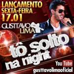 No próximo domingo (19/01), a partir do meio-dia, o cantor e compositor Gusttavo Lima será o convidado especial de Celso ...