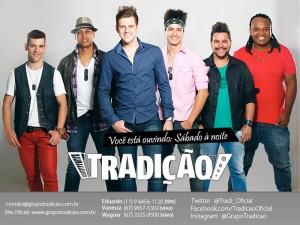 """O Grupo Tradição lança hoje seu novo projeto, o 10º CD de carreira, intitulado """"Churrascão do Tradição"""", gravado ao vivo ..."""