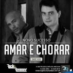 """Os sertanejos Rick e Renner lançaram ontem, para todas as rádios do Brasil, a sua nova música de trabalho, """"Amar ..."""