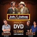 A dupla sertaneja Jads e Jadson irá gravar seu segundo DVD no próximo dia 12 de junho, durante o Arraial ...
