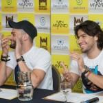 A dupla sertaneja Munhoz e Mariano realizou, na noite da última terça (21), em Campo Grande (MS), uma coletiva de ...
