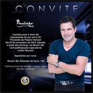 O cantor Paulinho Reis está curtindo bastante sua nova fase musical e para comemorar, ele irá lançar nesta semana, na ...