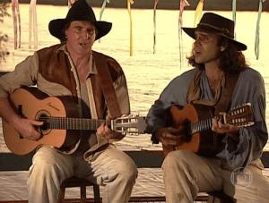 Almir Sater e Sérgio Reis cantando Rei Do Gado, sucesso de Tião Carreiro e Pardinho Almir Sater e Sérgio Reis ...