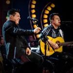 """A dupla Bruno e Marrone acaba de lançar, para as rádios de todo Brasil, a sua nova música de trabalho, """"Agora"""". A música é o terceiro single de trabalho do último CD/DVD lançado no segundo semestre de 2014. Além de ..."""