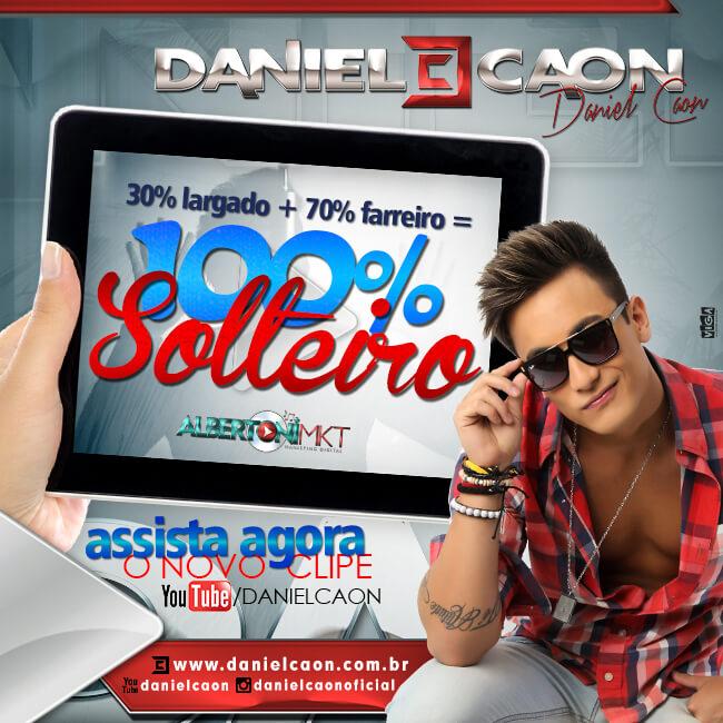 """#blitzballaio - Daniel Caon lança clipe da música """"100% solteiro"""" (Download)"""