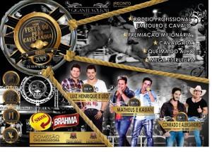 Festa do Peão de Cafelandia 2015 para de copiar meus posts HED!!! Shows: Luiz Henrique e Léo, Matheus e Kauan e Conrado e Aleksabdro