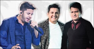 Os shows de Bruno e Marrone, Cristiano Araújo, Inimigos da HP, João Bosco e Vinícius, Latino, Leonardo, Ludmilla, Marcos e ...