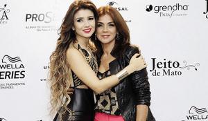 Dulce de Souza, mãe de Paula Fernandes, está escrevendo livro sobre a trajetória de vida da filha