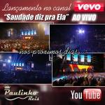 Clipe foi extraído do DVD do cantor Paulinho Reis, que será lançado em Agosto.