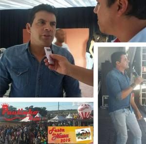 Paulinho Reis participa de futebol solidário em Minas Gerais O cantor Paulinho Reis participou, no último dia 07, de uma ...
