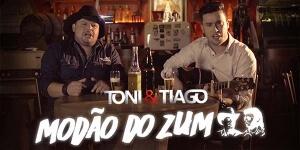 """Modão do Zum"""" é a nova música de trabalho da dupla Toni e Tiago."""