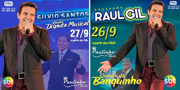 Paulinho Reis na TV