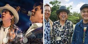 Chitãozinho e Xororó cantando em Japonês
