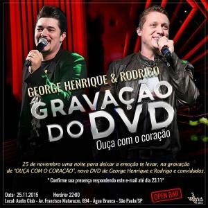 Gravação DVD George Henrique e Rodrigo