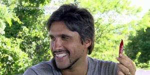 Leo Chaves no programa da Sabrina