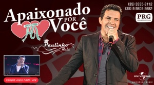 O cantor sertanejo Paulinho Reis está lançando a nova versão de um grande sucesso de sua carreira, confira!