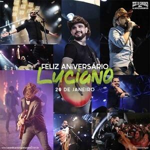 Aniversário de Luciano Camargo