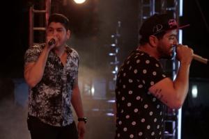 Henrique e Diego emocionam Muzambinho com homenagem a Cristiano Araújo