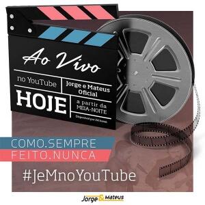 Jorge e Mateus irá fazer transmissão do novo DVD no Youtube