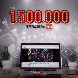 """Clipe de """"E Aí"""" ultrapassa a marca de 1.5 milhão de visualizações no Youtube!"""
