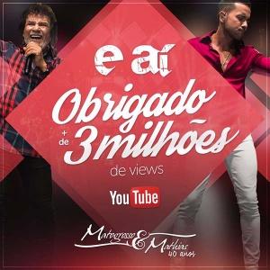 """MatoGrosso e Mathias comemoram sucesso de """"E Aí"""""""