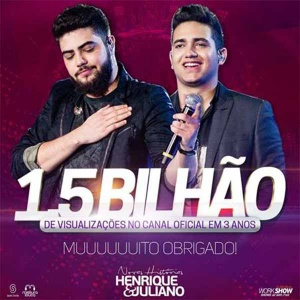 "Henrique e juliano batem recorde de ""views"" no Youtube!"