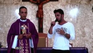 Missa em homenagem a Cristiano Araújo