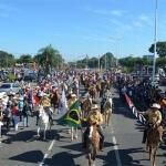 Desfile de Cavaleiros, evento que abre as atividades das Festa do Peão de Americana, acontece neste domingo