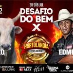 """Festa do Peão de Hortolândia promove """"Desafio do Bem"""" em prol de entidades assistenciais"""