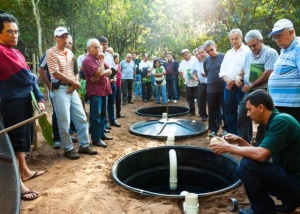 Tecnologia desenvolvida pela Embrapa contribui para o saneamento básico rural