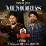 Gravação do DVD Memórias – César Menotti e Fabiano Os fãs deCésar Menotti eFabianopodem ficar contentes. A dupla anunciou pelas ...