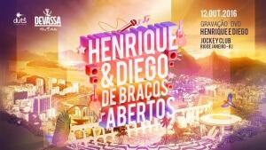 Gravação DVD Henrique e Diego